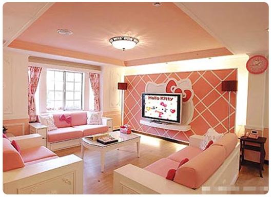 Hello Kitty Themed House Design Ideas