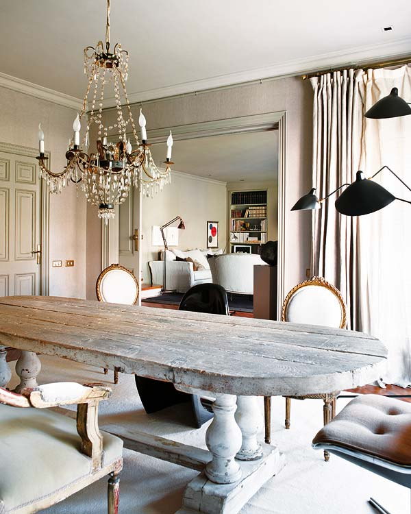 classic Glamor Barcelona apartment