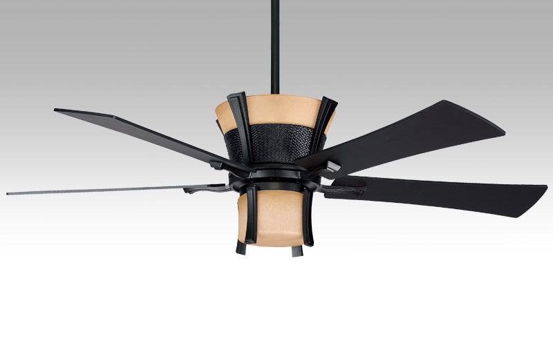 Akina Ceiling Fan with lamp