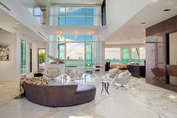 interior photo of villa valentina miami