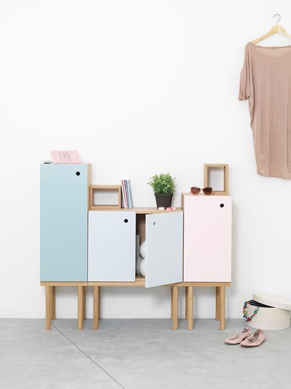 cute cabinet for modern bathroom