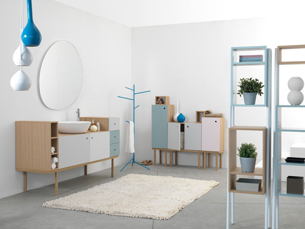 large bathroom multipurpose cabinet