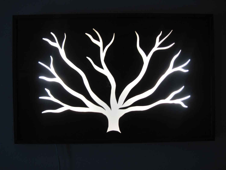 Unique Wall Light Sculpture Art 4