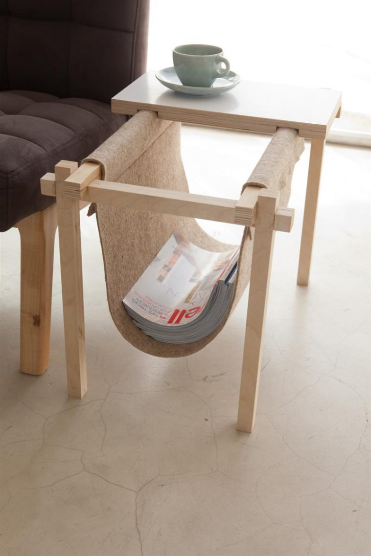 All in One Magazine Rack and Coffe Table by chuck routhier