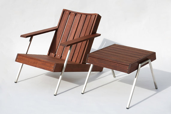Classic Rosewood Adirondack Chairs 2