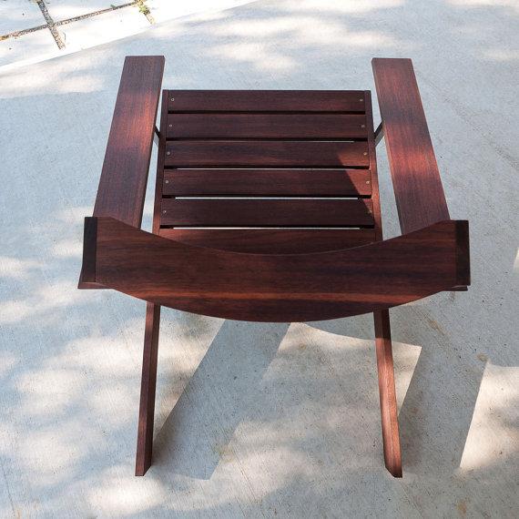 Classic Rosewood Adirondack Chairs 3