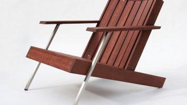 Classic Rosewood Adirondack Chairs