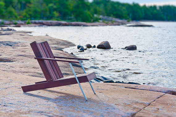 Classic Rosewood Adirondack Chairs 5