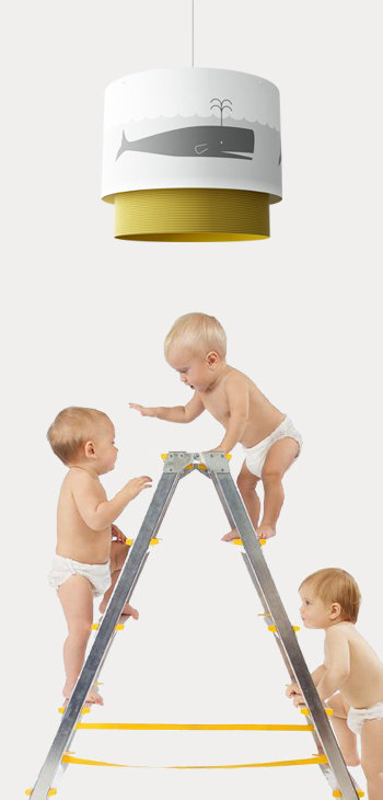 DIY Unique Creation Paper hanging lamp by BuoKids 2