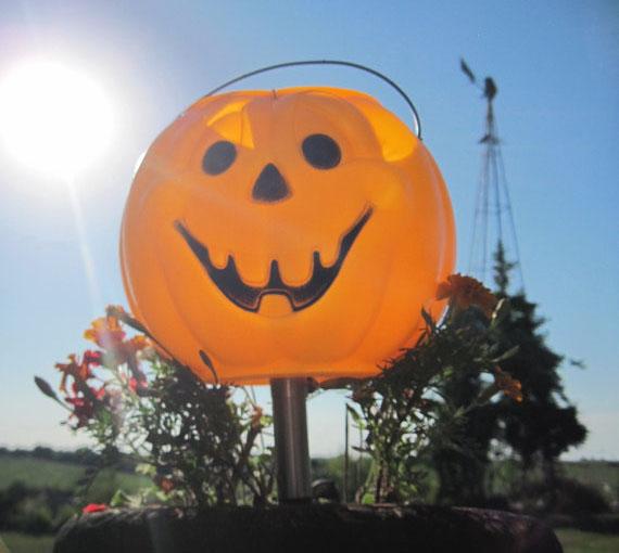 Hanging Lanterns Halloween Pumpkin Solar 3