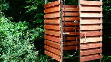 Oborain Solo and Piccolo Outdoor Shower