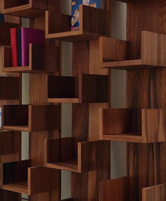 Reclaimed Redwood Stack Shelves by Deger Cengiz 2