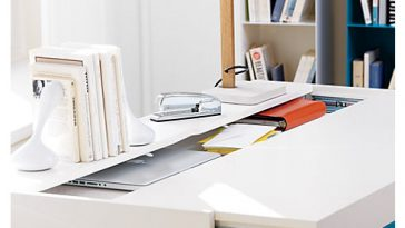 Torino Slide Desk Table by Manuel Saez 4