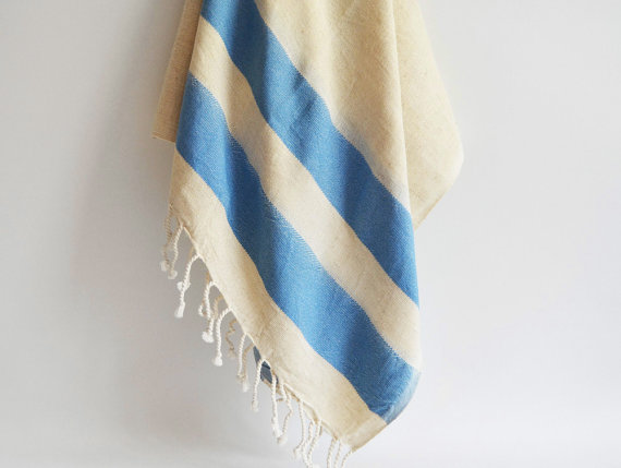 Towel Peshtemal Striped Turkish Styles 4