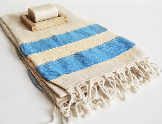 Towel Peshtemal Striped Turkish Styles