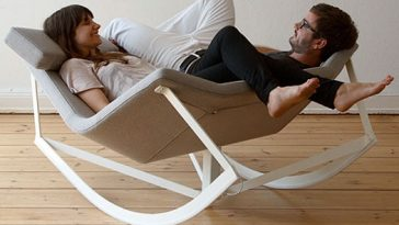 Twin Share Rocking Chair by Markus Krauss