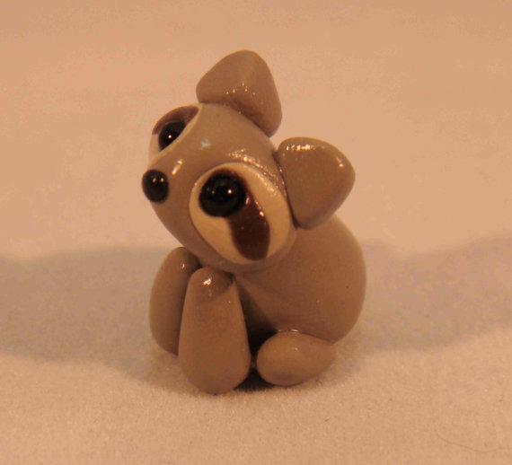 Very Cute Little Raccoon Polymer Clay 4