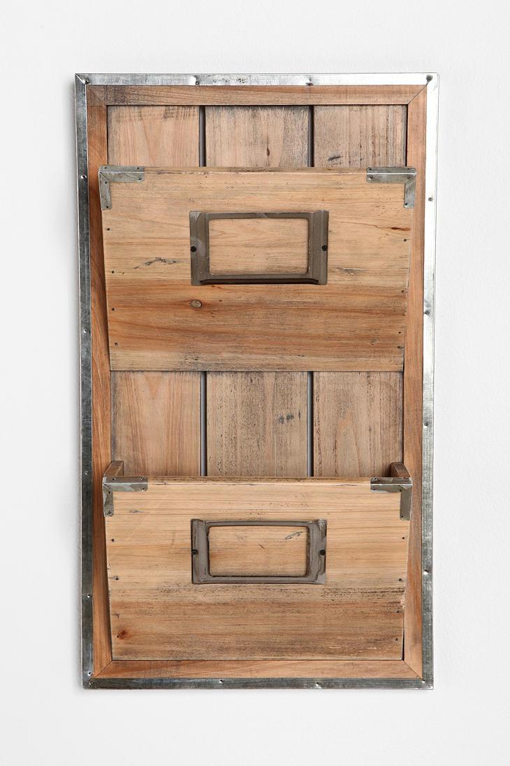 Wooden Room Magazine Rack 2