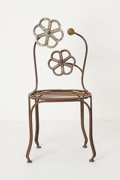 Blacksmith Blossom Chair