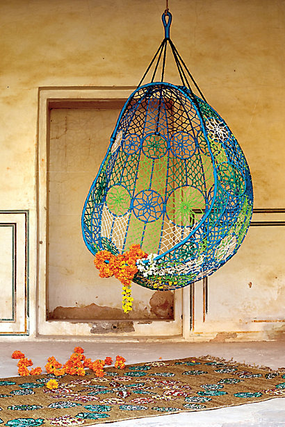Knotted Melati Hanging Chair 5