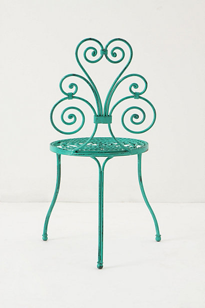 Le Versha Chair, Turquoise 2
