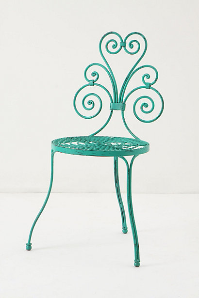 Le Versha Chair, Turquoise 3