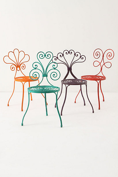 Le Versha Chair, Turquoise 5