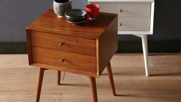 Solid Oak Nightstand Furniture 1