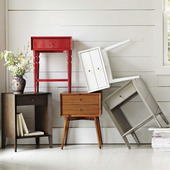 Solid Oak Nightstand Furniture 13