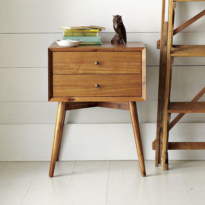 Solid Oak Nightstand Furniture 2