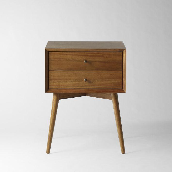 Solid Oak Nightstand Furniture 4