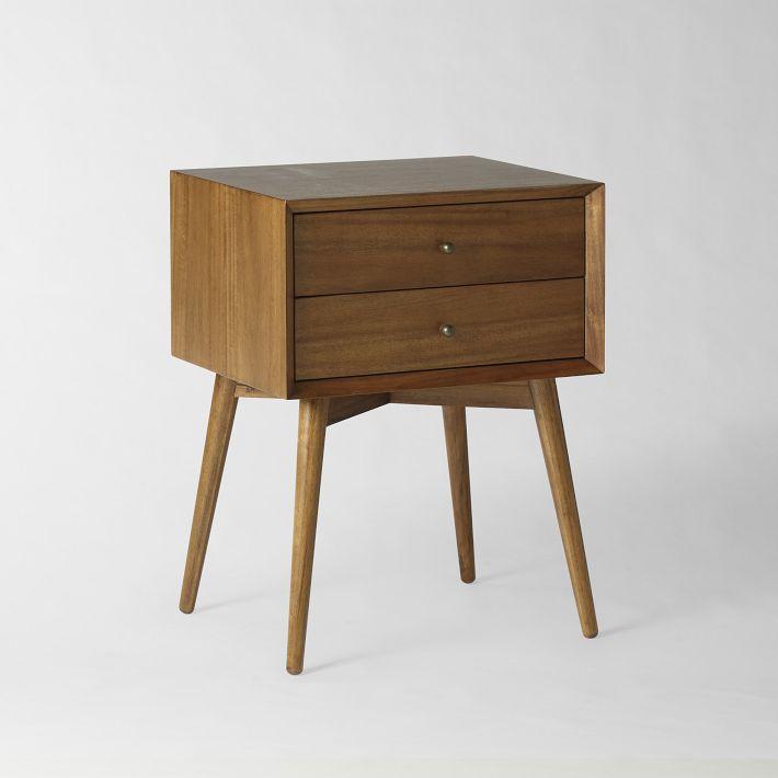 Solid Oak Nightstand Furniture 5