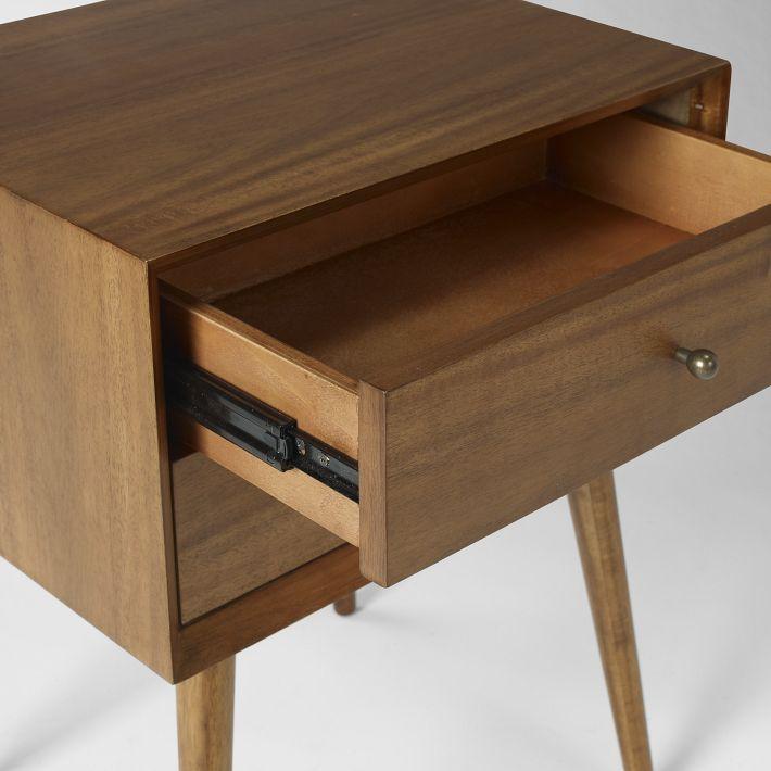 Solid Oak Nightstand Furniture 6