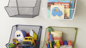 Wall Basket Storage for Kids Toy
