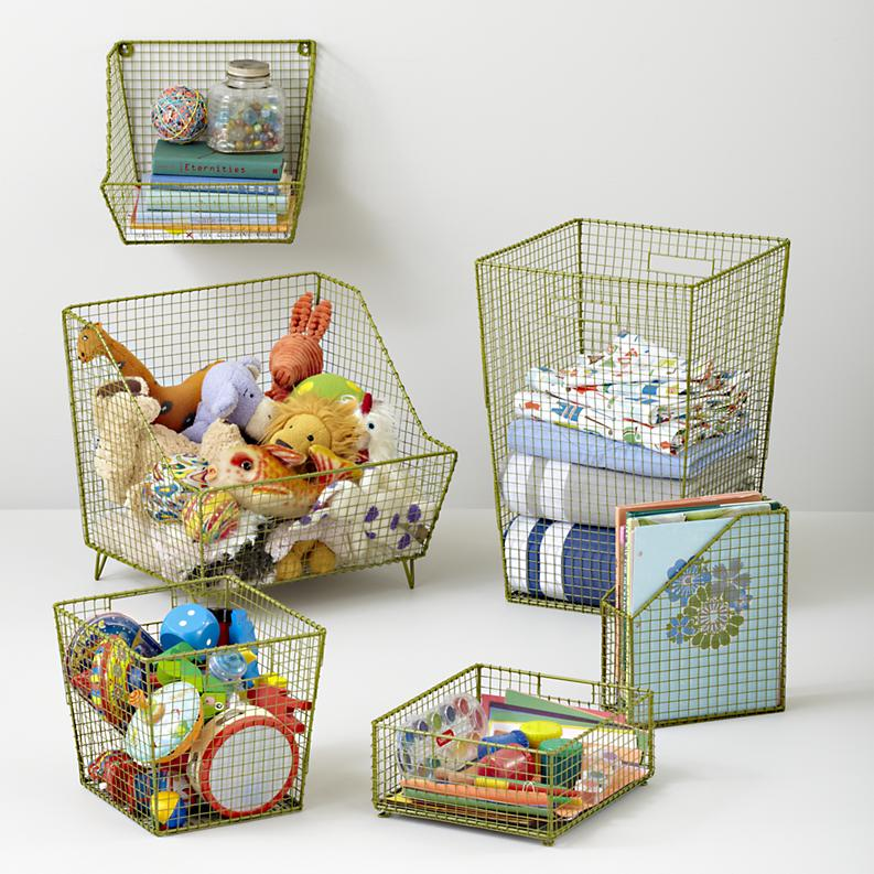 Wall Basket Storage for Kids Toy 4