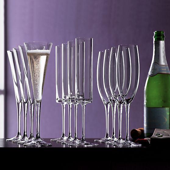 edge champagne flute