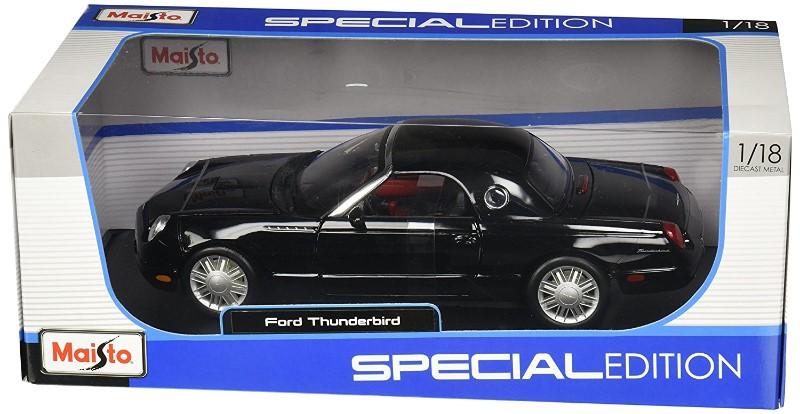 2002 Grey Ford Thunderbird diecast 1-18 scale