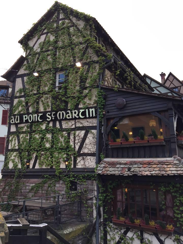 Au Pont St Martin Restaurant with Tudor Design