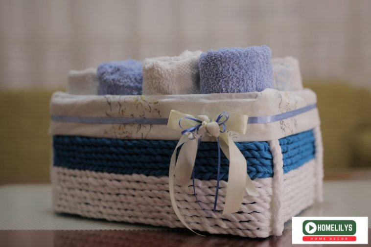 DIY box for hand towel - Final Product you can do it within 2 hours