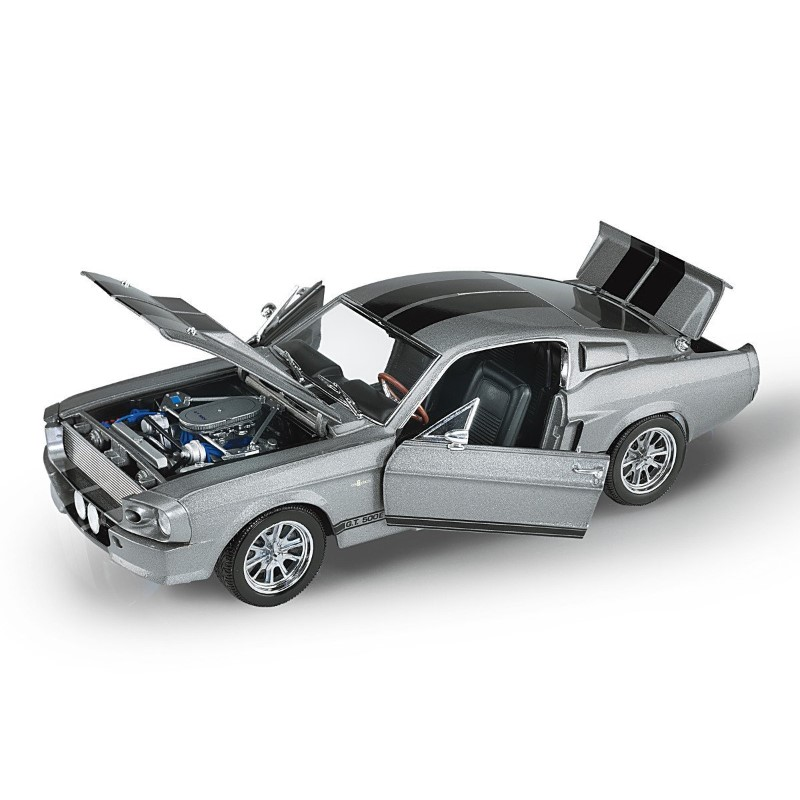Shelby Mustang GT500E Eleanor Diecast car full view