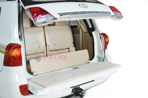 Toyota Land Cruiser 2012 boot compartment diecast model