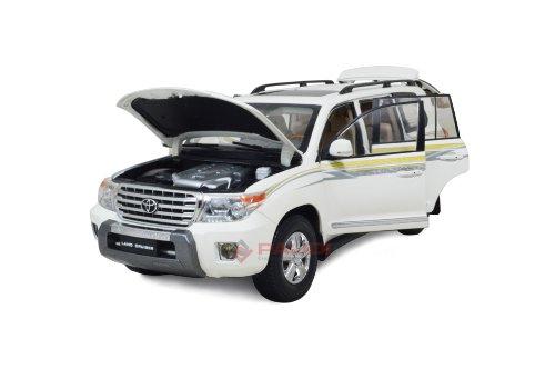 Toyota Land Cruiser 2012 front hood open diecast model