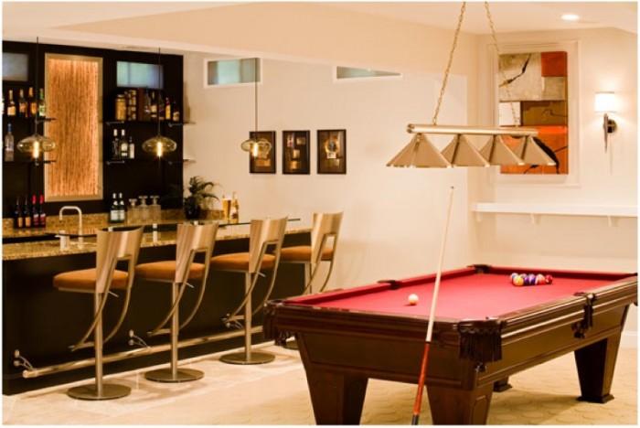 basement minibar