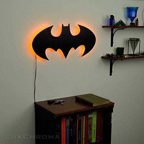 batman wall light sculpture