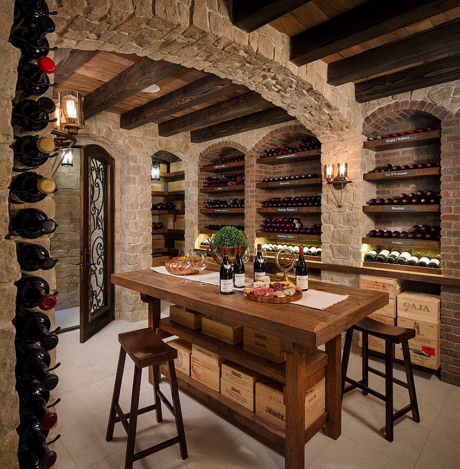 beautiful dinning room of a Tudor Home