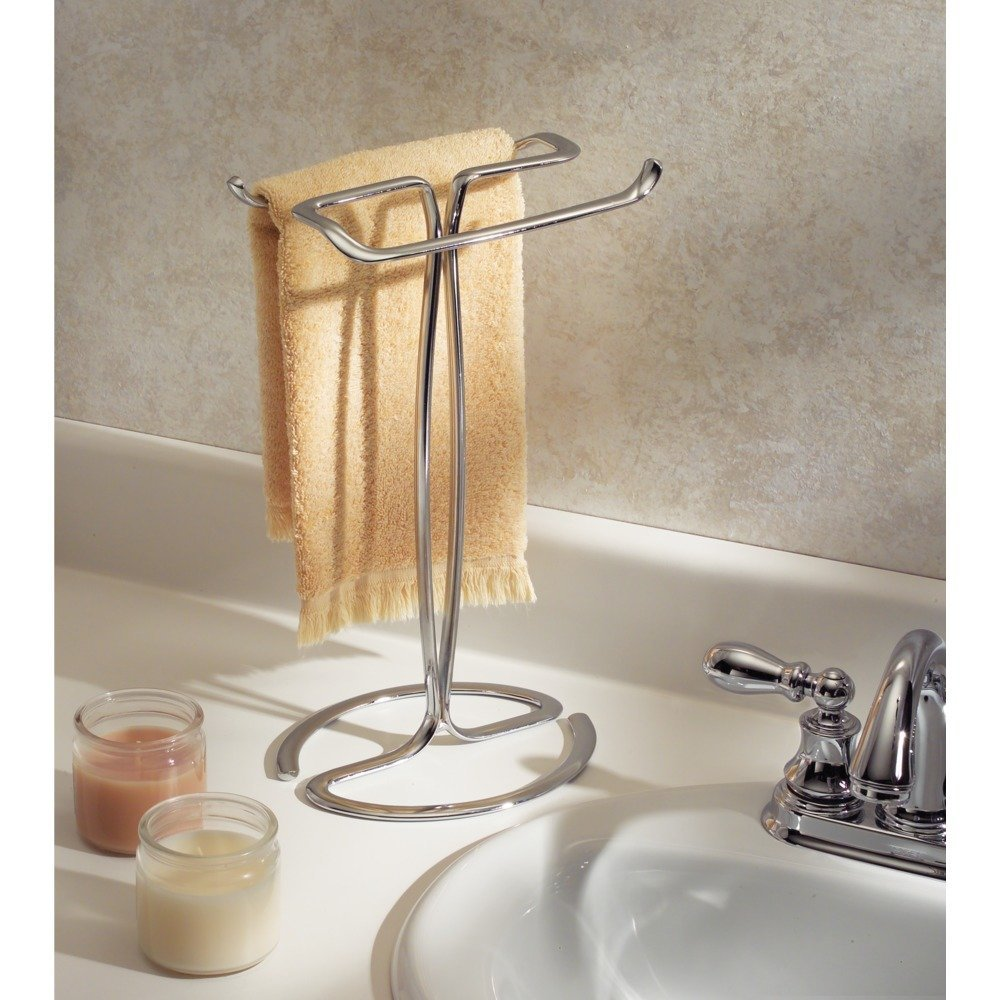 free standing hand towel rack