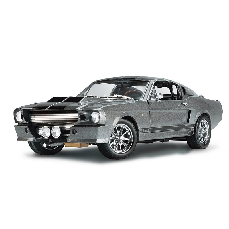 grey Shelby Mustang GT500E Eleanor Diecast car