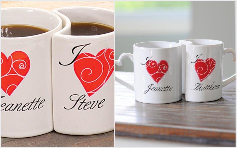 heart shaped coffee mug printable design