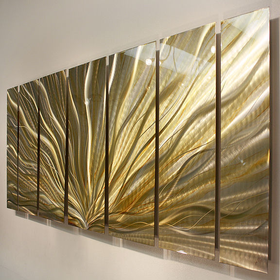 large frame wall light sculpture