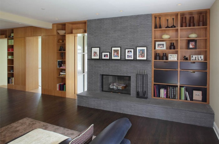 reading room in small basement ideas